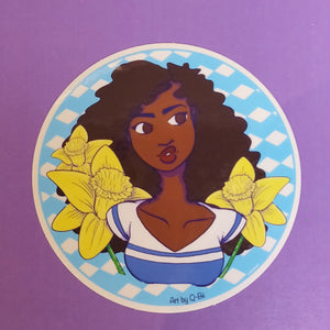 Flower Girls STICKERS
