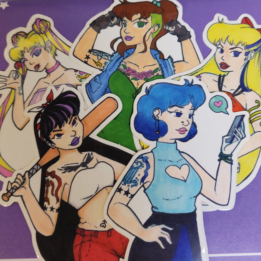 Punk Sailor STICKERS