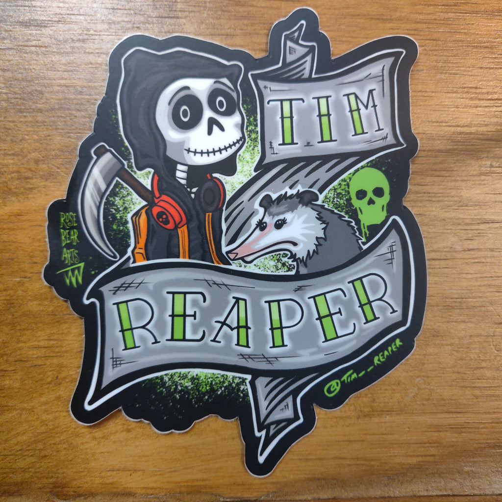 Tim Reaper + Bernadette STICKER