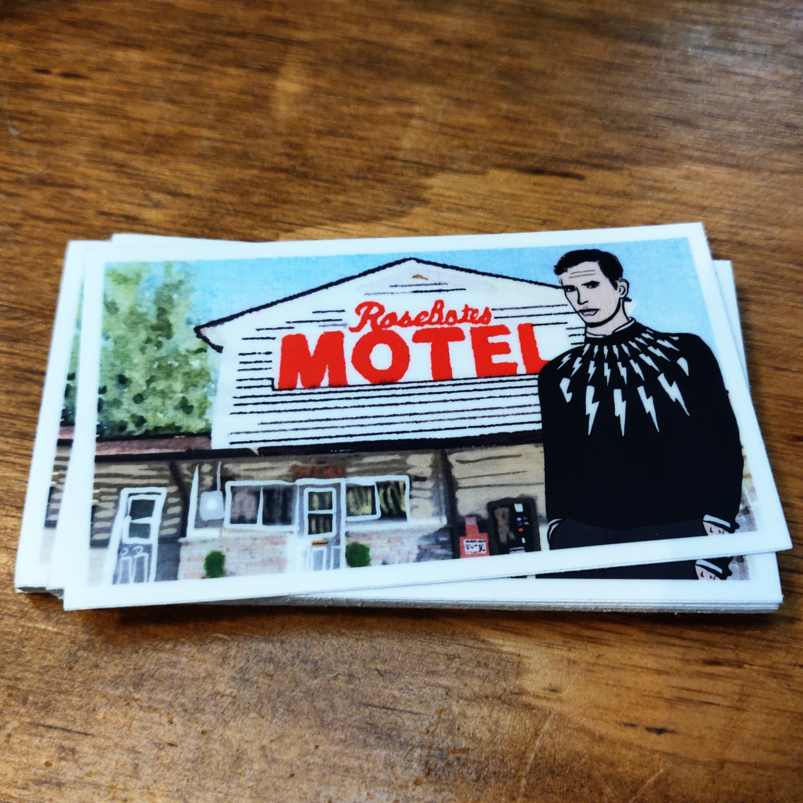 RoseBates Motel STICKER