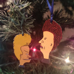 *SALE* Beavis & Butthead Set of 2 ORNAMENTS
