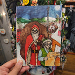 Happy Hogswatch GREETING CARD