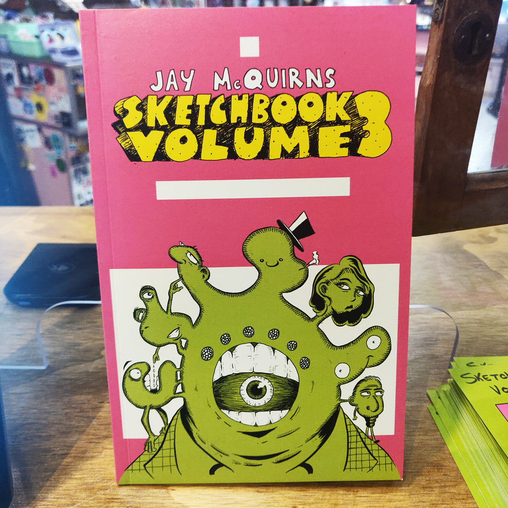 Jay McQuirns Sketchbook Vol. 3