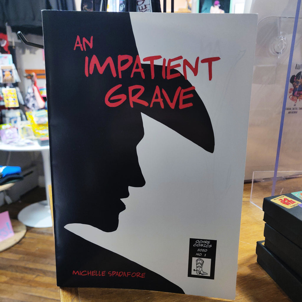 An Inpatient Grave Glossy Comic BOOK / ZINE