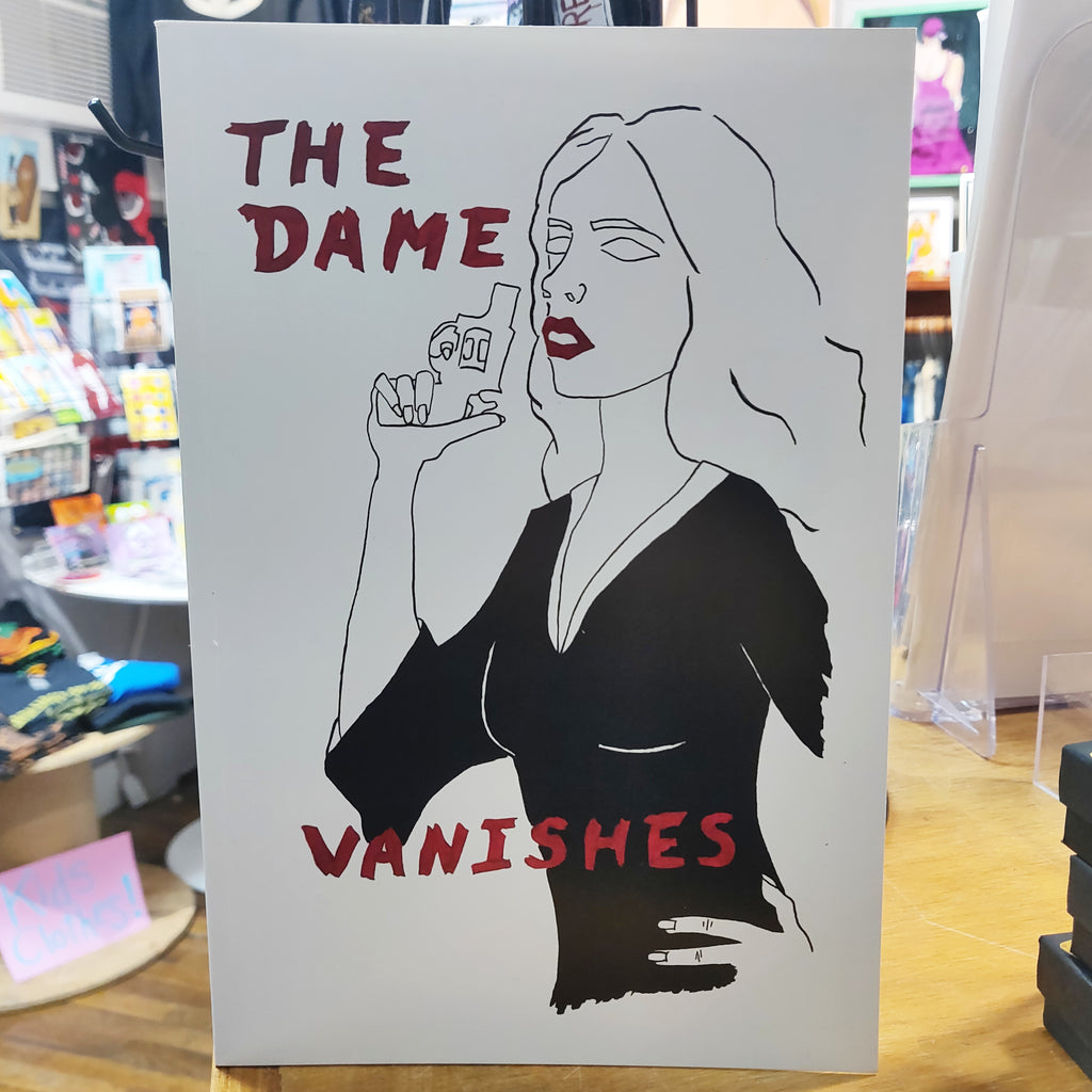 The Dame Vanishes Glossy Comic BOOK / ZINE