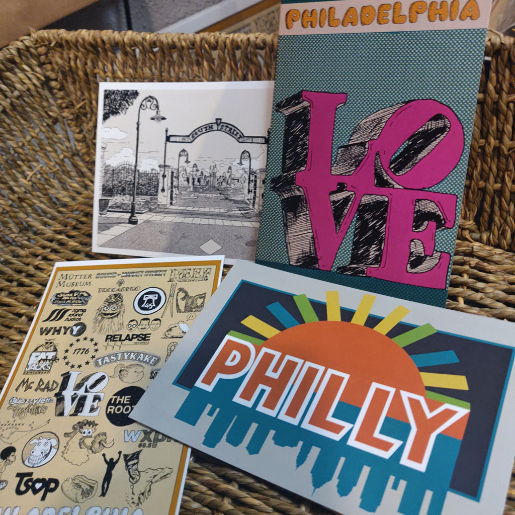 Philly POSTCARDS / Small PRINTS