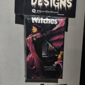 The Witches LIGHT SWITCH PLATE