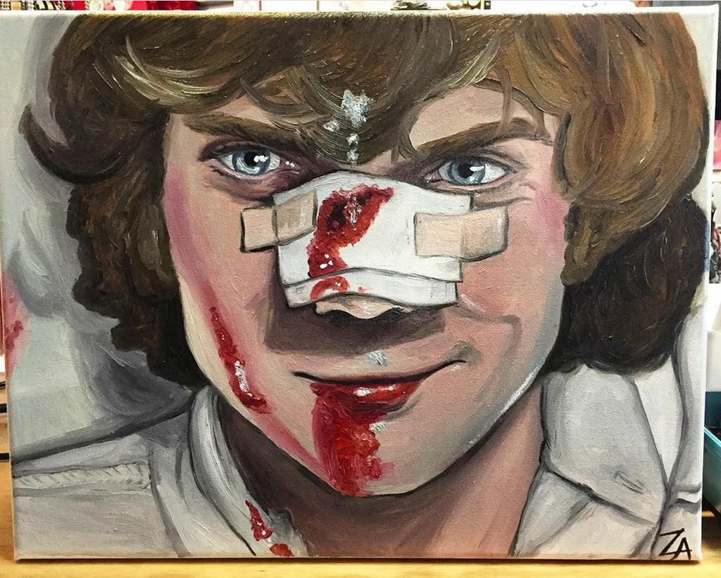 Alex (A Clockwork Orange) Original Oil PAINTING