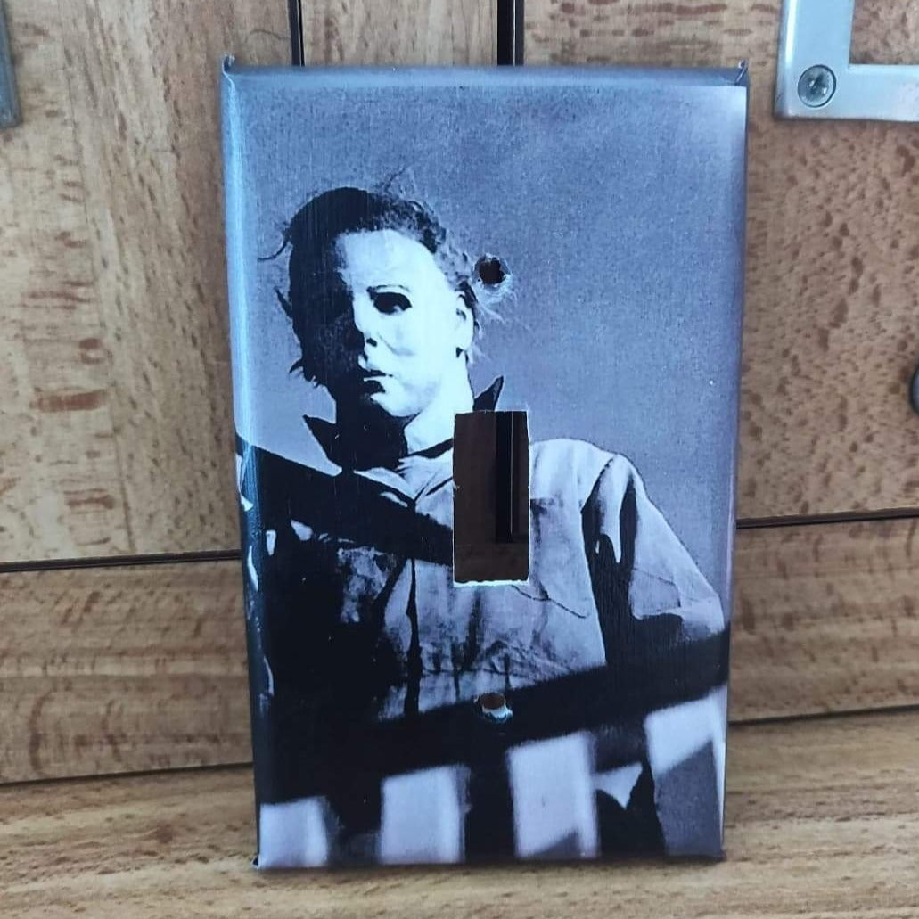 Michael Myers LIGHT SWITCH PLATE