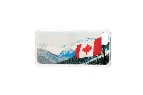 Canadian Glaciers TPU Clear Cases for iPhone 8