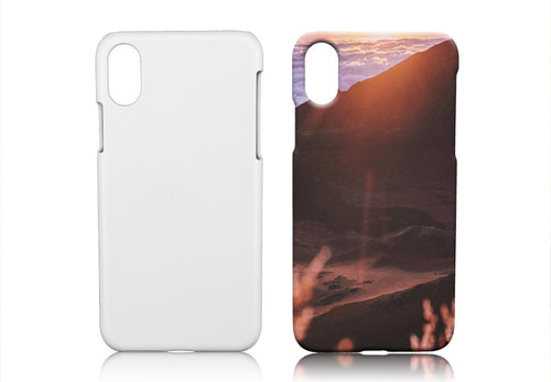 Blank 3D Sublimation Phone Case For iPhone X/10