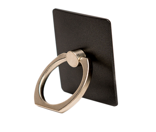 Black Phone Ring Holder - Ring Stent