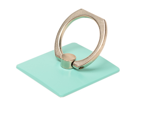 Green  Phone Ring Holder - Ring Stent