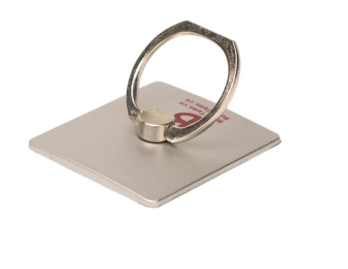 Silver Phone Ring Holder - Ring Stent