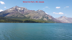 Waterton Park stickers for phone, tablet, laptop