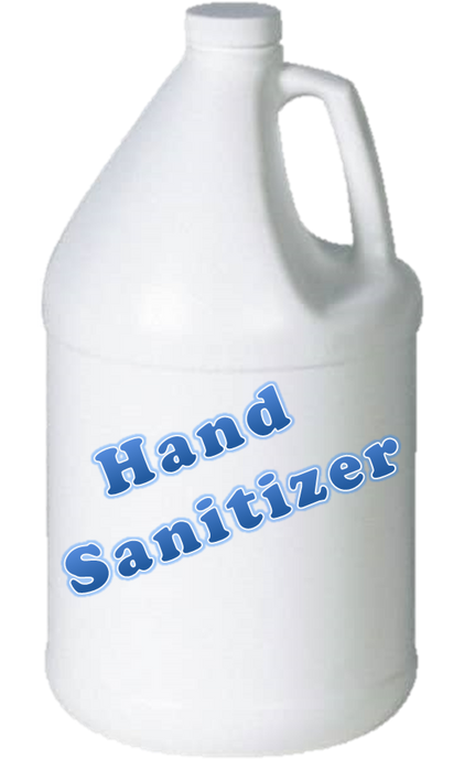 One Gallon FDA Approved Hand Sanitizer 80%