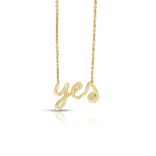 Say Yes Necklace