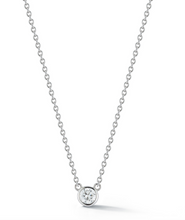 Load image into Gallery viewer, Solitaire Diamond Necklace