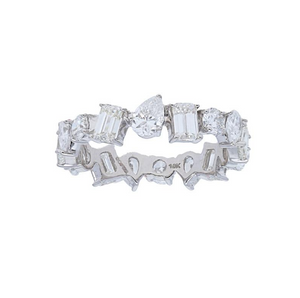 Multi Shape Diamond Eternity Band