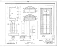 Prairie Style house plan - Historic American Homes brand