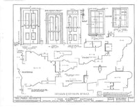 Kearney Cottage, 1784 - plans for a historic Colonial home