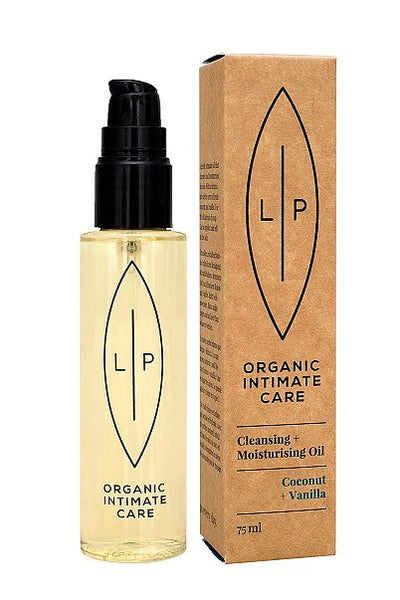 Cleansing & Moisturising Oil Coconut + Vanilla ┃Lip Intimate Care