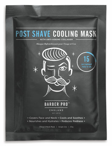 Post Shave Cooling Mask With Anti-aging Collagen Beauty Pro - Barber Pro köp online