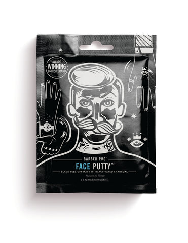 Face Putty Black Peel-off Mask With Activated Charcoal - Barber Pro Beauty Pro - Barber Pro köp online