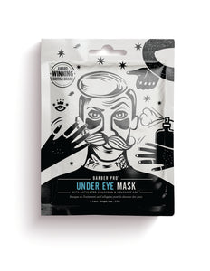 Under Eye Mask With Activated Charcoal & Volcanic Ash - Barber Pro Beauty Pro - Barber Pro köp online
