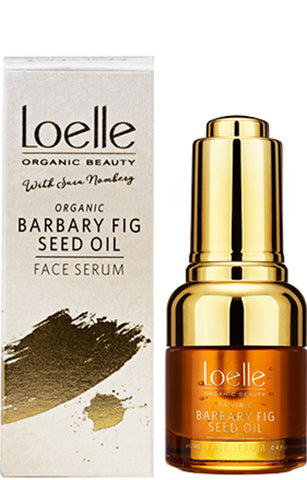 Loelle Organic Beauty I Samarbete med Sara Nomberg Organic Barbary Fig Seed Oil Face Serum 16ml - vildovacker