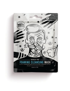 Foaming Cleansing Mask Cleansing mask with activated charcoal Beauty Pro - Barber Pro köp online