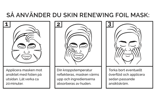 Skin Renewing Foil Mask - Barber Pro Beauty Pro - Barber Pro köp online