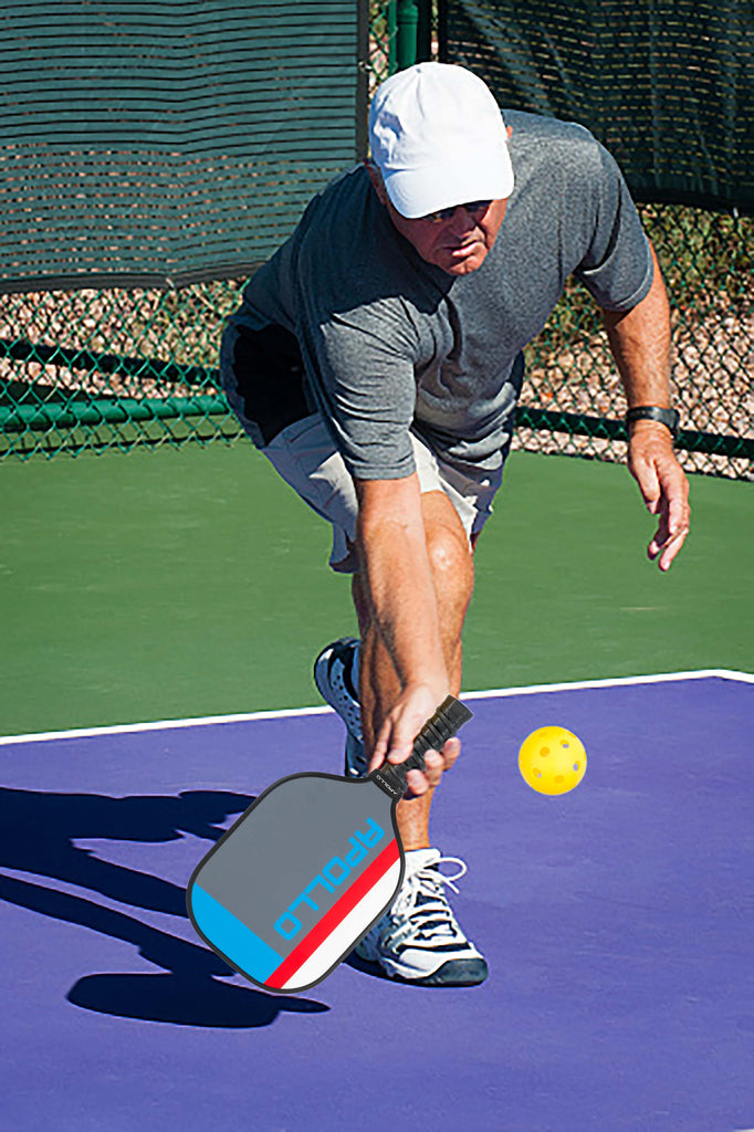 Apollo Gray Pickleball Paddle