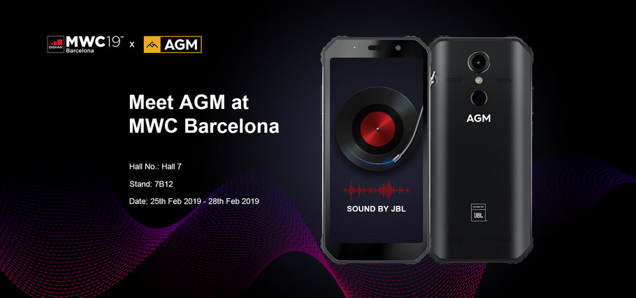 AGM Mobile at Mobile World Congress Barcelona