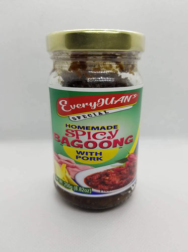 EveryJuan's Homemade Spicy Bagoong w/ Pork