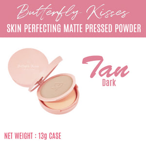Butterfly Kisses  Skin Perfecting Matte Pressed Powder