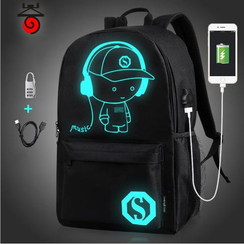 USB Laptop Bag for 13 14 15 15.6 17 Sleeve Case Women Men Backpacks Schoolbag  Notebook Computer Bags for Dell