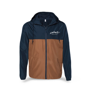 GC Portraits Windbreaker (Classic Navy / Saddle)