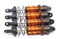 1/10 MAXX SHOCKS (ORANGE-Anodized Gt-maxx 8961t dampers, springs Traxxas 89076-4