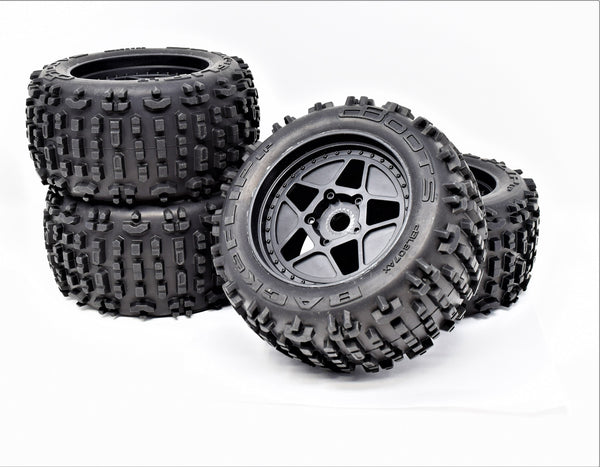 Arrma OUTCAST 4x4 4s BLX - TIRES & Wheels tyres dBoots back-flips lp AR550050