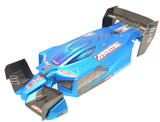 Arrma LIMITLESS 6s - Body Shell, wing set mount (MATTE BLUE AR109011