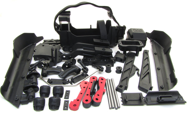 Arrma TALION 6s BLX - Side Guards, Battery Tray, wing mount hinge pins AR106048