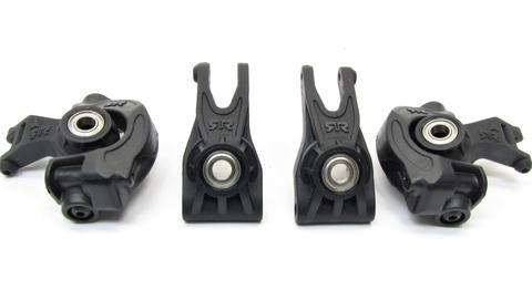 Arrma SENTON 4x4 3s BLX - HUBS, bearings front/Rear Uprights granite AR102668