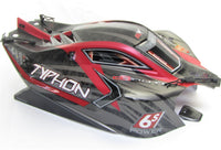 Arrma TYPHON 6s BLX - Body Shell (RED 2019 V4 polycarbonate cover AR106046
