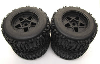 Arrma NOTORIOUS 6s BLX - TIRES & Wheels (tyres outcast DBoots Backflip AR106044