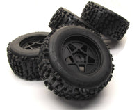 Arrma OUTCAST 6s BLX - TIRES & Wheels (tyres rims DBoots Backflip AR106042