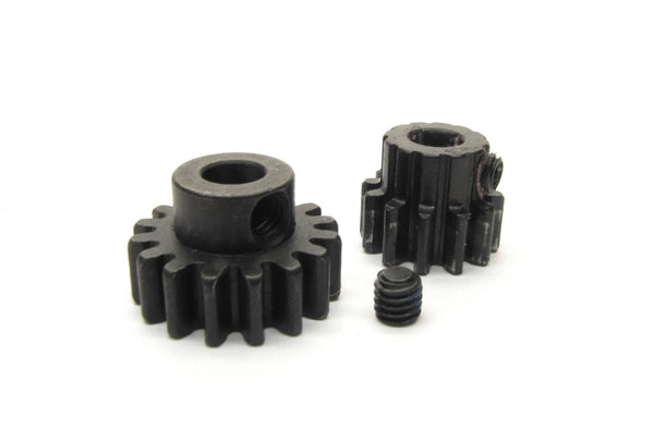 Arrma NOTORIOUS 6s BLX - Pinion Gears (12t 15t steel Mod 1 5mm outcast AR106044