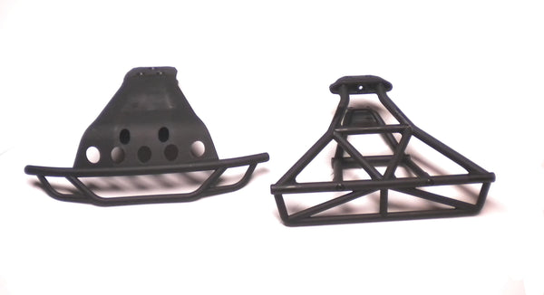 SLASH 4x4 ULTIMATE BUMPERS 6835 6836 Front & Rear platinum vxl Traxxas 68077-4