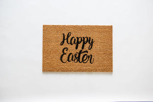 Happy Easter Welcome Doormat