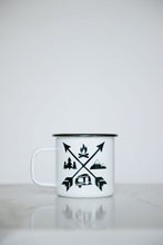 Load image into Gallery viewer, Outdoor Adventure - 16oz Enamel Camping Mug